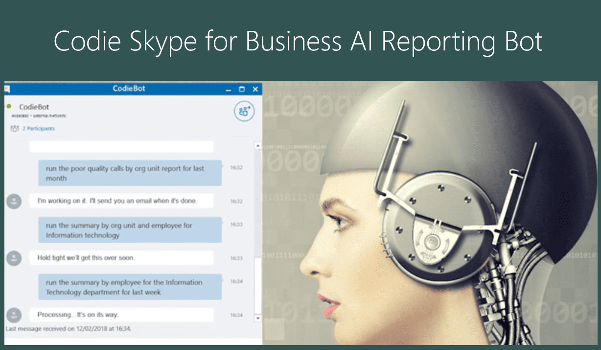 AI Reporting for Skype for Business