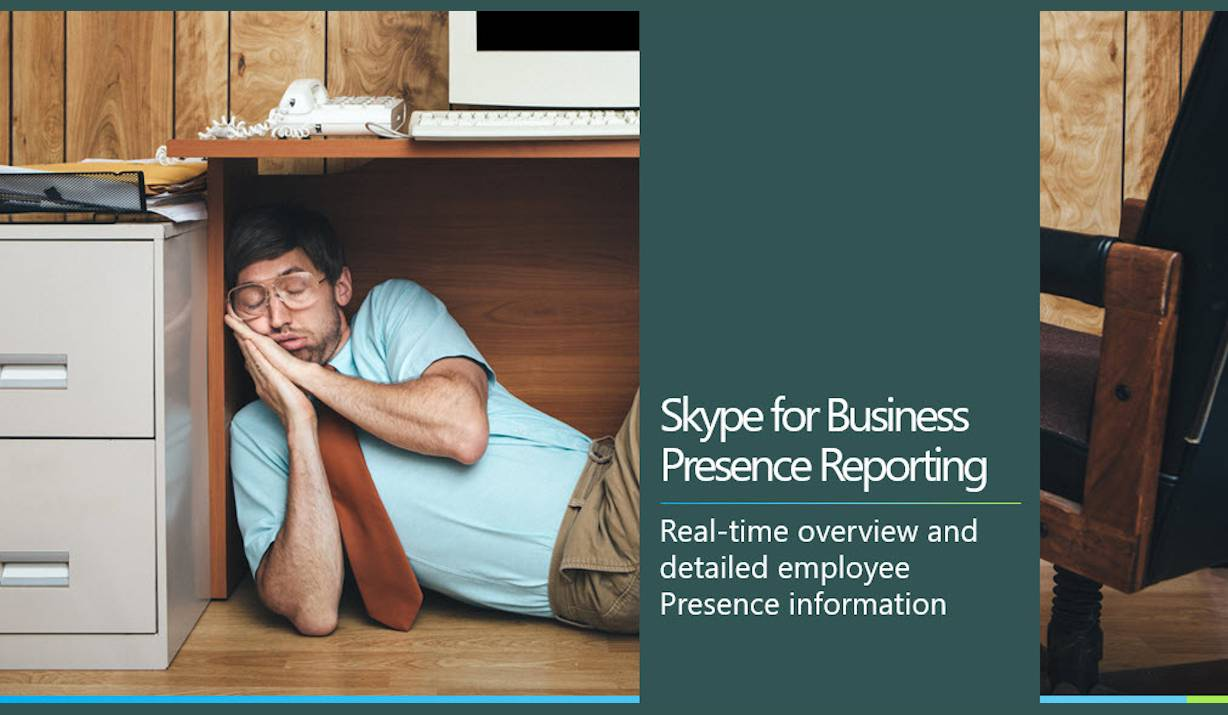 Skype for Business Precence Reporting